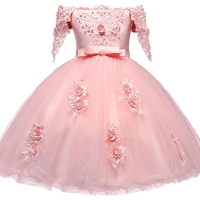Amazon : Girl Flower Printed Cotton Elegant Tulle Bow Belt Princess Dress Just $21.24 W/Lightening Deal  (Reg : $50) (As of 1/22/2020 6.17 PM CST)