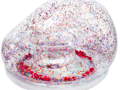 Kohl's : CLEARANCE! Glitter & Pom Inflatable Chair Just $13.99 (Reg : $69.99)