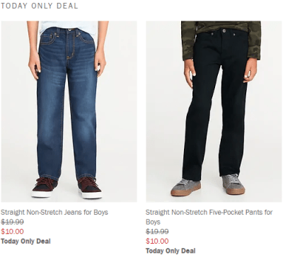 Old Navy : Jeans for the Whole Family Only $10-$12 (Reg : up to $35)