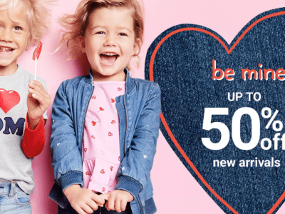 Carter's and Oshkosh : 50% Off Valentine's Day Flash Sale! Today!!