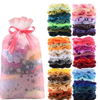 Velvet Scrunchie Hair Ties 60-Count Pack Only $6.55 on Amazon (Just 11¢ Each)