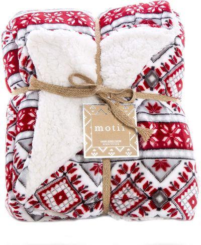 Amazon : Reversible Velvet Luxury Berber Throw Blanket 50x60 (Yuletide) Just $17.49 W/50% Off Coupon (Reg : $13.30) (As of 1/25/2020 10.50 PM CST)