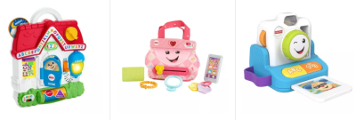 TARGET : 50% Off Fisher-Price Toys – Laugh & Learn, Little People & More + Store Pickup.