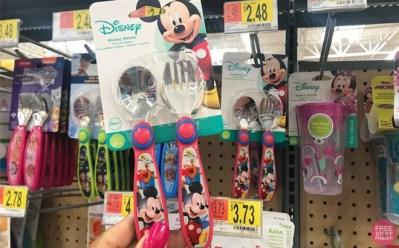 Disney Minnie or Mickey Mouse Stainless Flatware Set ONLY $2.48 at Walmart (Reg $5)
