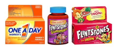 One A Day & Flintstones Vitamins for Free at Publix