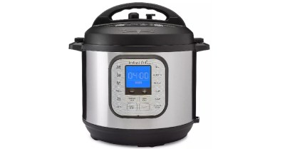 Target: Instant Pot Duo Nova 6 quart 7-in-1 One-Touch Pressure Cooker $59.95 ($99.95)
