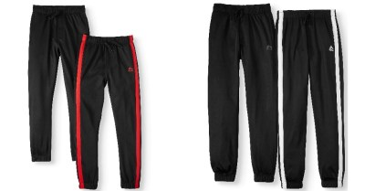 Walmart: Jogger Pants with Contrast Taping, 2-Pack (Little Boys & Big Boys), Just $11.5 (Reg $17)