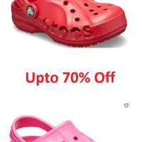 Up to 70% Off Crocs for the Family | Prices as Low as $7.49