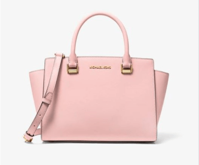 Michael Kors : Selma Saffiano Leather Medium Satchel Bag Just $79 (Reg $348)