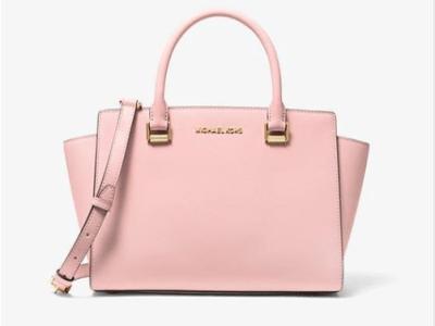 Michael Kors : Selma Saffiano Leather Medium Satchel Bag Just $79 (Reg $348)