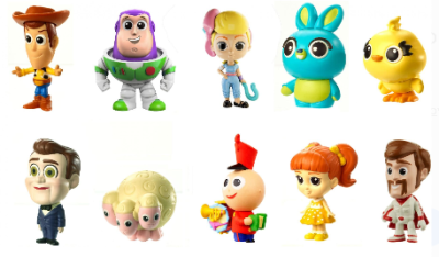 WALMART: Disney Pixar Toy Story Minis Ultimate New Friends Character 10-Pack Only $6.99 (Reg. $30)