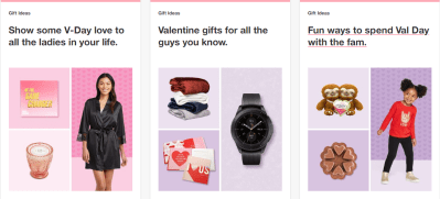 Target : Valentine's Day Giftsfor Prices As Low As From $3.99 + Store Pickup!