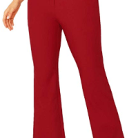 Amazon : Women's High Waisted Plain Comfort Straight Leg Zipper Pants Just $6.99 W/Code (Reg : $23.30) (As of 2/25/2020 5.05 PM CST)
