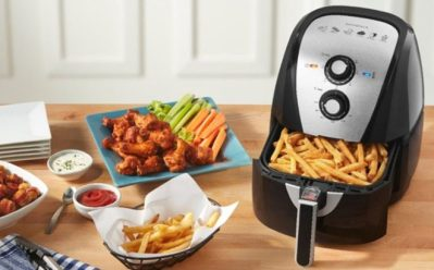 Insignia 5L Analog Air Fryer JUST $39.99 + FREE Shipping (Reg $100) – Today Only!