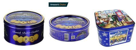 Royal Dansk Danish Butter Cookie Tins as Low as $2.78 Shipped on Amazon