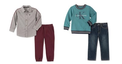MACY'S: CalvinKlein Boys 2-Pc Fleece Logo Top & Jeans Set $19.93 ($59.50)