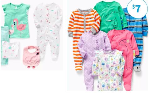 Just $2.99 ordered + more Carter's & OhKosh B'gosh Toddler Tees & Leggings