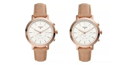 Macy's: Fossil Women's Tech Neely Nude Leather Smart Watch 36mm $77.50 ($155) CODE LOVE