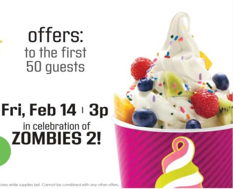 Menchie's: FREE 5oz Frozen Yogurt (February 14th)