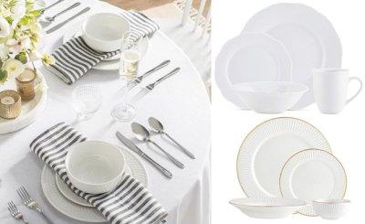 MACY'S: Godinger 16-Piece Porcelain Dinnerware Sets From JUST $28 (Regularly $97)