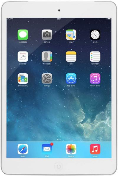 Apple iPad mini FD531LL/A 16GB, Wi-Fi, (White/Silver) (Renewed) for just $71.86