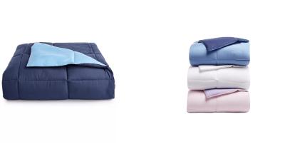 MACY'S: Martha Stewart Reversible Down Alternative Comforter (All Sizes) $19.99 ($130)