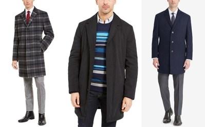 MACY'S: Men's Designer Overcoats 85% Off – Calvin Klein, Tommy Hilfiger, Ralph Lauren
