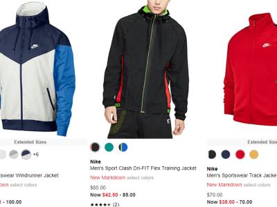 Macy's : Nike Men's Jacket Sale!