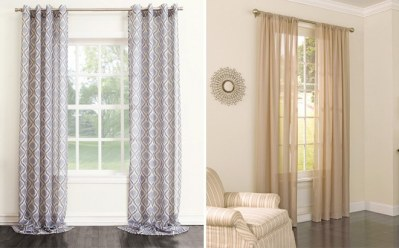 KOHL'S: Up to 70% Off Window Curtains + Extra 20% – Starting at ONLY 5.99