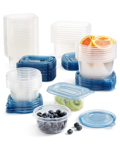 MACY'S: Art and Cook 100-Piece Food Storage Set ONLY $14.99 (Reg. $50)