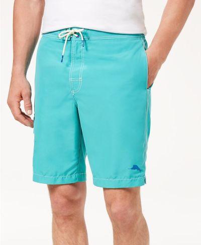 "MACY'S: Tommy Bahama Men's Baja Beach 9"" Swim Trunks, Just $39.75 (Reg $79.50) with code FLASH"