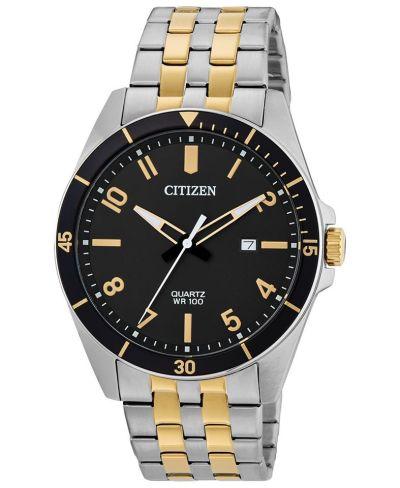 MACY'S: Citizen Men's Quartz Two-Tone Stainless Steel Bracelet $100.00 (Reg $200.00) with code FLASH