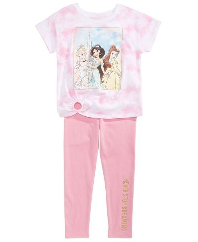 MACY'S: Disney Toddler Girls 2-Pc. Princesses T-Shirt & Leggings Set, Just $16.00 (Reg $40.00)