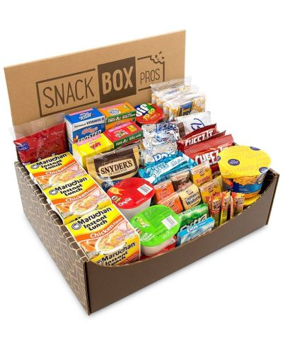 MACY'S: SnackBoxPros 54-Pc. Dorm Room Survival Snack Box, $27.99 (Reg $39.99) with code VIP