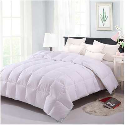 AMAZON: Comforter, 75% off at checkout with CODE 75XLA5IK