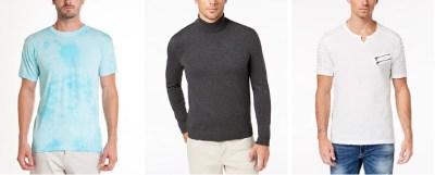 MACY'S: 50-75% Off Men's Clothes Flash Sale