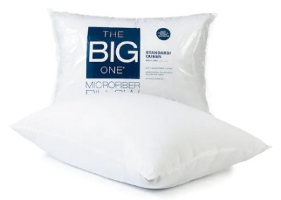 KOHL'S: The BIG One Microfiber Pillows Starting at JUST $2.83 Each (Regularly $10)