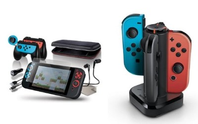 MACY'S: Nintendo Switch Accessories Starting at $15 (Power Dock, Cases, Starter Kits)