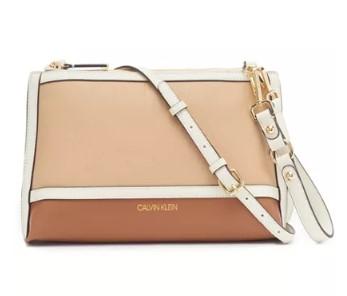MACY'S: Calvin Klein Sonoma Crossbody $58.80 (Reg. $98)
