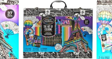 The Art of Coloring Coloring Case Just $9.97 on Walmart.com (Regularly $20)