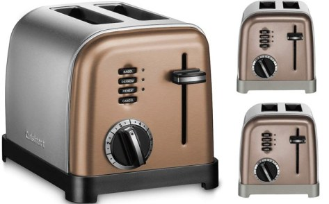 Cuisinart Copper Stainless 2-Slice Toaster ONLY $29.74 at Kohl's (Regularly $70)