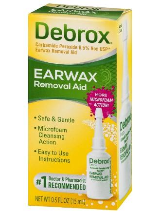 AMAZON: Debrox Drops Earwax Removal Aid - 0.5 fl oz – HOT DEAL!!!
