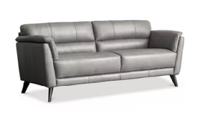 MACY'S: Lucais 83″ Leather Sofa For $799 ($1859)
