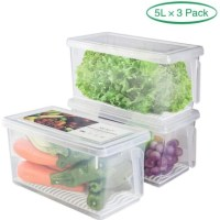 AMAZON: Refrigerator Organizer Bins – WITH CODE!!