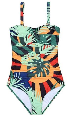 AMAZON: Women's Ruched Vintage Swimwear – 65% OFF!!!
