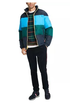 MACY'S: Tommy Hilfiger Men's Colorblocked Puffer Jacket For $49.96 ($249)