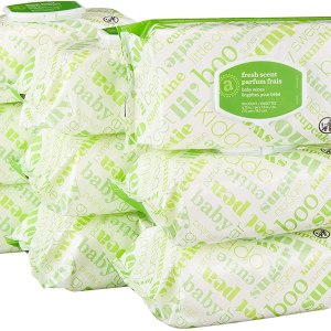AMAZON: Amazon Elements Baby Wipes, Fresh Scent, 720 Count Flip-Top Packs