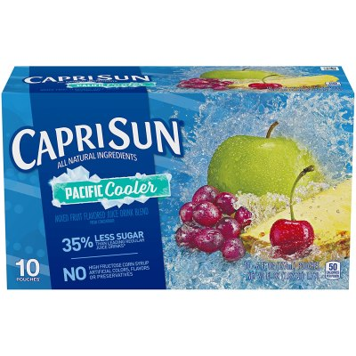 AMAZON: Capri Sun Pacific Cooler Mixed Fruit Flavored Juice Drink Blend, AS LOW AS $1.89 · CHECKOUT VIA SUBSCRIBE & SAVE!