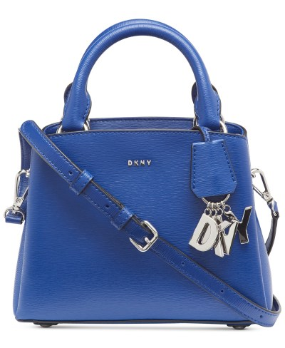 MACY'S: DKNY Paige Small Leather Satchel $70.93 ($178) Shipped!