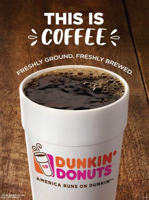 FREE Dunkin' Beverage Reward w/ App Orders | Daily Through April 17th